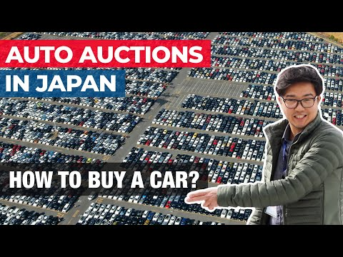 Japan Auto Auctions Buy A Car From Japan Youtube