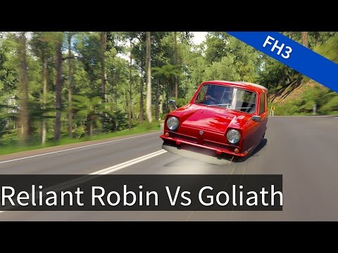 Forza Horizon 3: Reliant Robin VS Goliath VS Isetta Bubble car