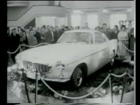 1960 p1800 history 1960 salon auto bruxelles volvo p1800 for Salon auto bruxelles