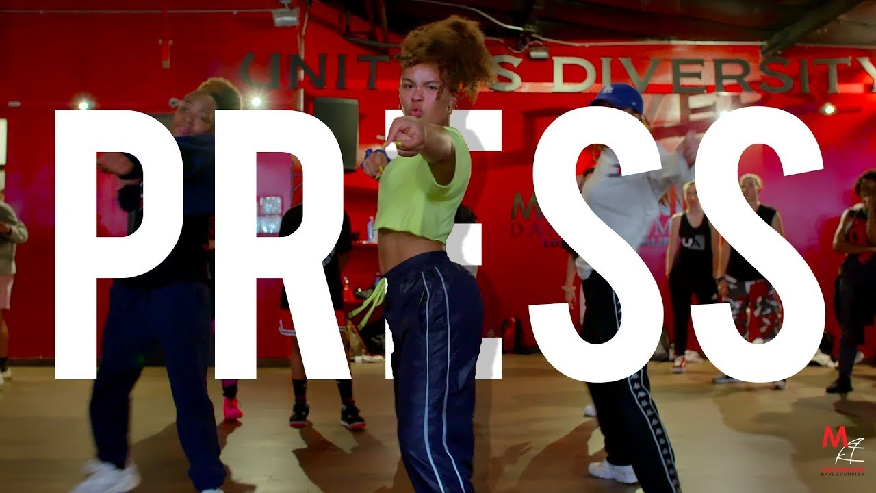 "Cardi B - ""Press"" | Phil Wright Choreography | Ig : @phil_wright_"