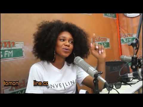 Becca on Adom FM with KABA