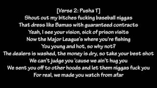 Pusha T - M.P.A (Lyrics) Ft. Kanye West, Asap Rocky & The Dream King Push: Darkest Before Dawn