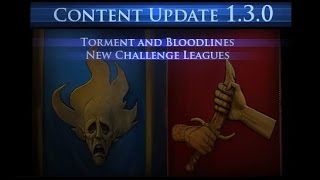 Forsaken masters 1.3.0 New Challenge Leagues Torment & Bloodlines! + New Wand Skill!