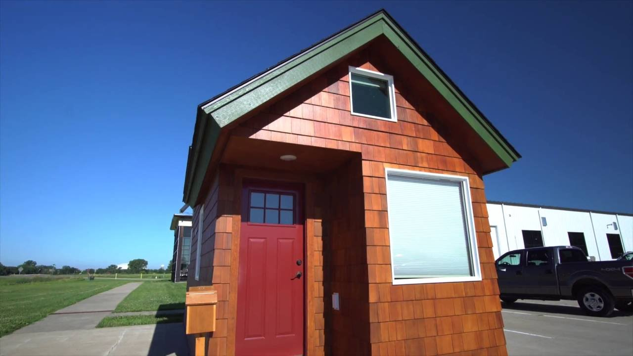 Tour A South Dakota Tiny House YouTube - Dakota tiny house on wheels