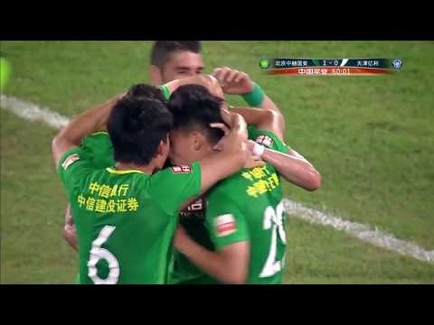 HIGHLIGHTS Beijing Guoan vs Tianjin Teda 北京中赫国安vs天津亿利 | CSL 2017 Round 13