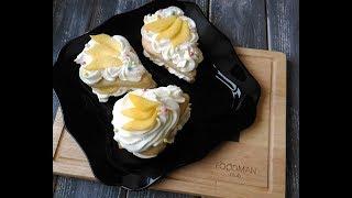 Пирожные с манго и крем-чизом: рецепт от Foodman.club