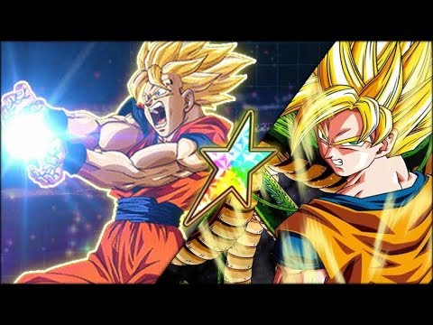 DON'T SLEEP ON THIS EZA! 100% RAINBOW STAR FAMILY KAMEHAMEHA GOKU SHOWCASE! (DBZ: Dokkan Battle)