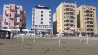 Отель Фламинго бич. Ларнака. Кипр. 2017 г. Hotel Flamingo Beach. Larnaca. Cyprus.