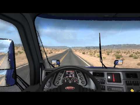 American Truck Simulator-Bakersfield to Elko, essssperantoooo!