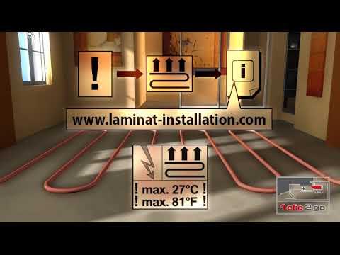 1 Clic 2 Go How To Install Laminate Flooring Instructional Video
