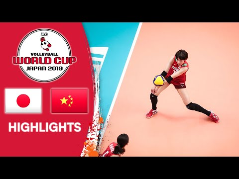 JAPAN Vs. CHINA - Highlights | Women's Volleyball World Cup 2019