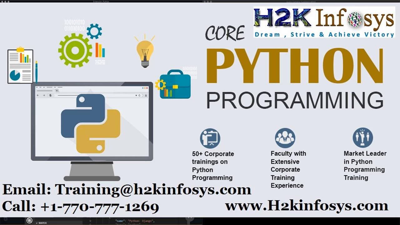 Python Online Training | Best Python Online Course - 100% Job