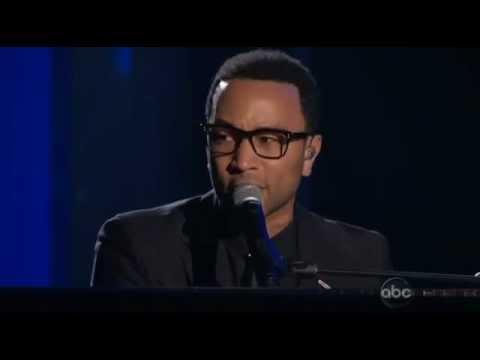 John Legend & Jordin Sparks Tribute To Whitney Houston (Billboard Music Awards 2012)