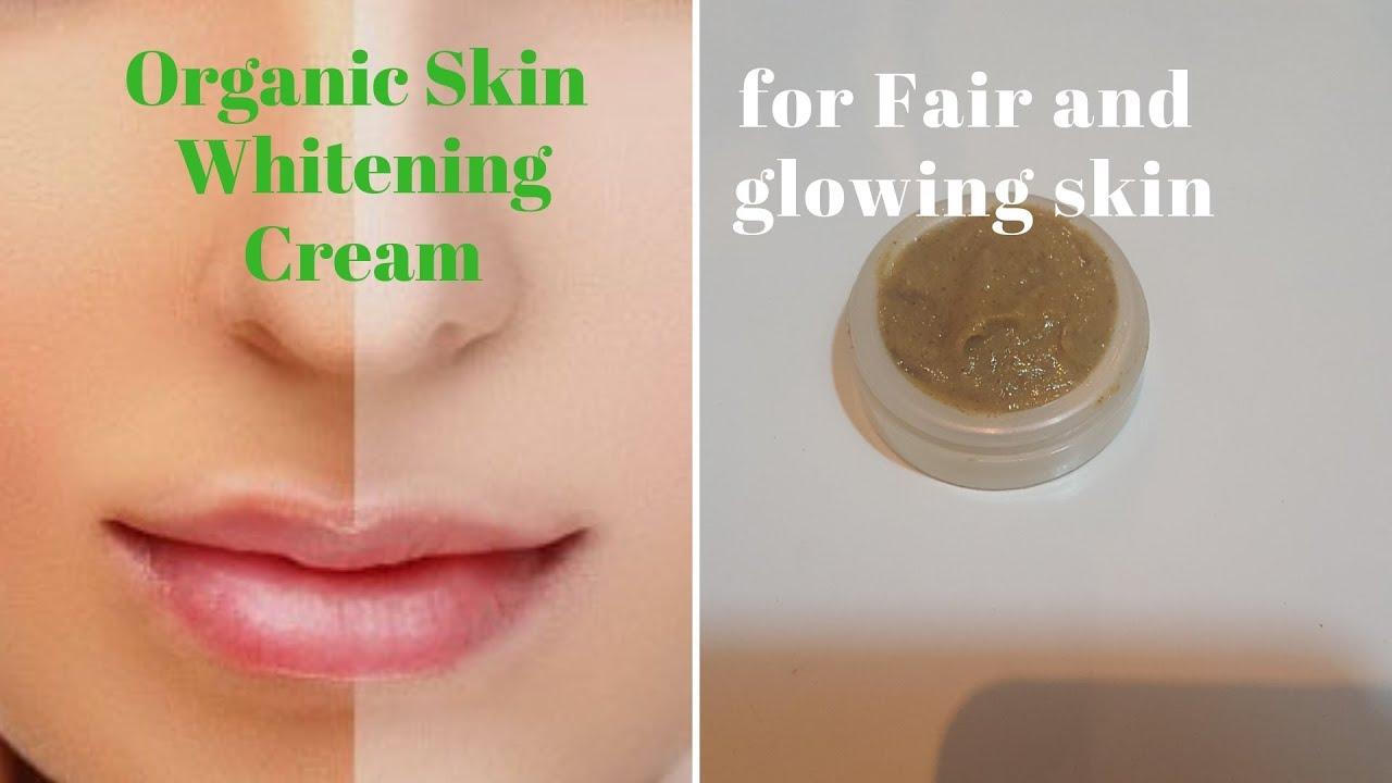 Organic Skin Whitening & Glowing Cream