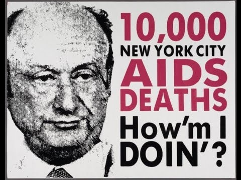 The AIDS Crisis in New York and Mayor Ed Koch