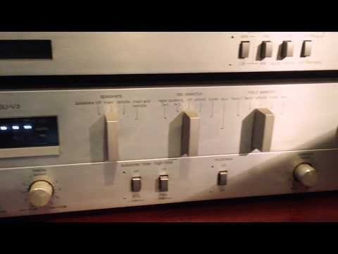 Vintage classic Technics hiif units separates amplifier tuner cassette deck & turntable SUV3