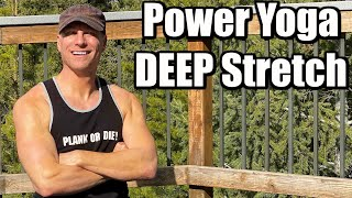 20 Min Power Yoga Strength and Flexibility Workout w/ Sean Vigue