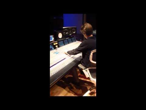 Sydney Claire album. Echoplex pt 1. Engineer Chris Bell mixing Sydney's Imagine vocals