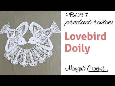 Lovebird Doily Crochet Pattern Product Review PB097
