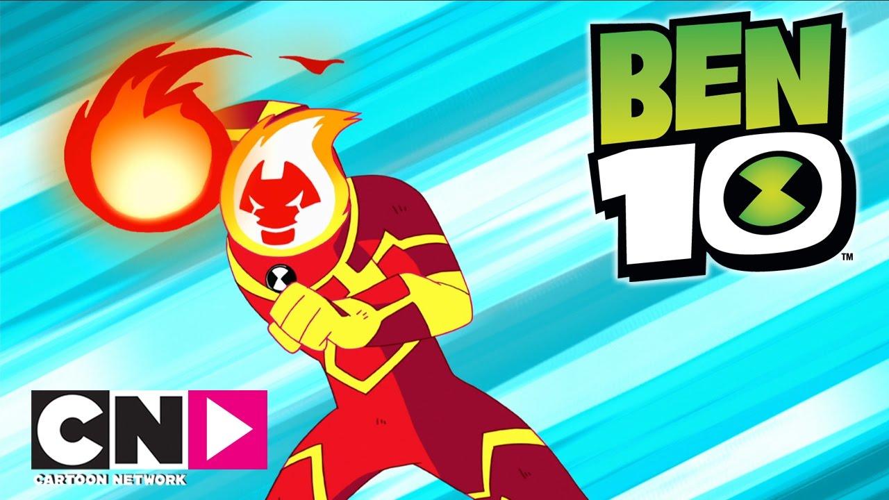 Ben 10 I Uzaylılar Ateş Topu I Cartoon Network Türkiye Youtube