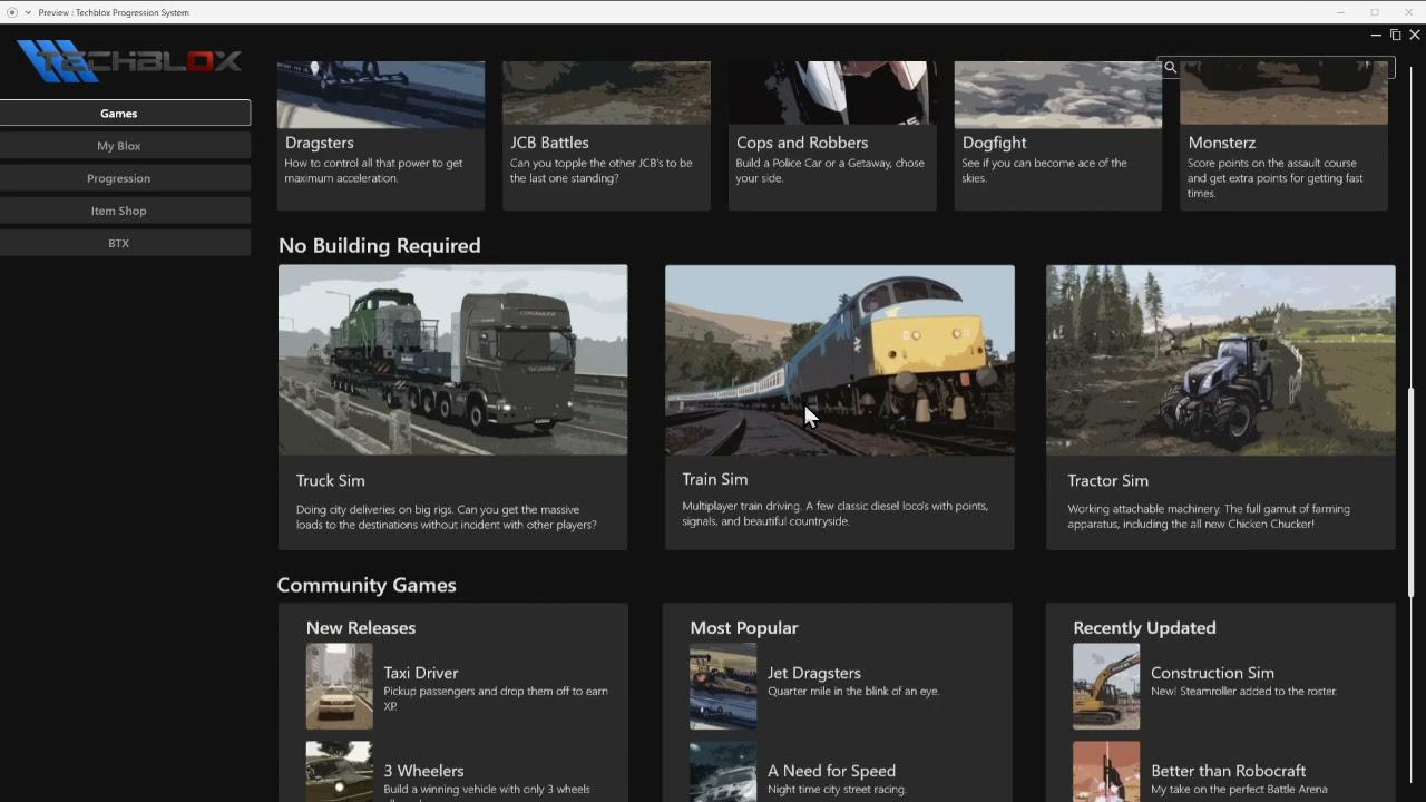 Games Portal, New Wheels and Engine - Dev Blog #66