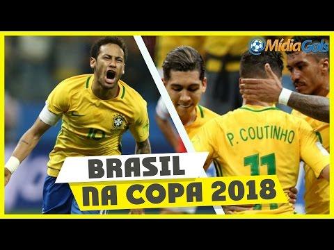 Brasil 3 x 0 Paraguai - NARRAÇÕES ESPETACULARES!!! Brasileiros vs Paraguaios