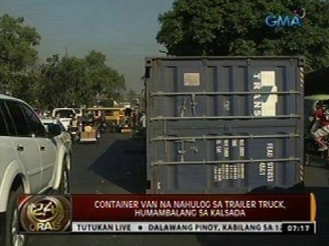 24Oras: Operasyon laban sa mga lumalabag sa Manila truck ban, nabalot ng tensyon