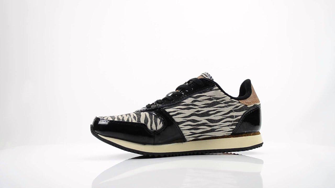 woden zebra sneakers