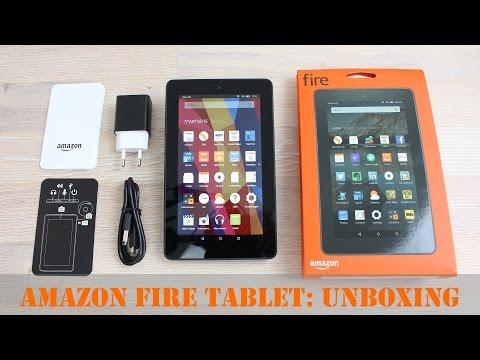 Amazon Fire: 60€ Tablet im Unboxing & ersten Eindruck (Deutsch) | InstantMobile