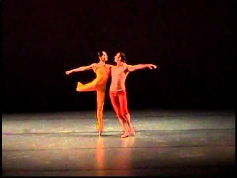 Dvorak Violin Piano Romance Ballet, 4 Romantic Pieces Op. 75 No. 3,Dance TCUNAM Ureta & Tonathiu