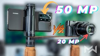 Huawei P40 Pro Plus vs Sony Camera - ULTIMATE 4K VIDEO TEST!