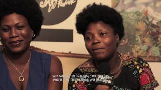 Interview - Angélique Kidjo & African Women All-Stars | Montreux Jazz Festival 2016