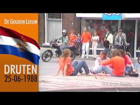 EK Gekte 1988 Druten - De Gouden Leeuw