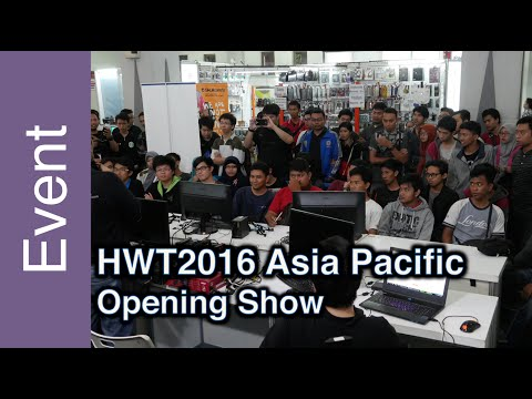 Opening Show - HWBOT World Tour 2016 - Asia Pacific
