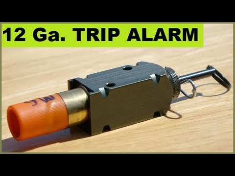 12ga. Camping Trip Alarms - Unusual shell loads!