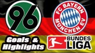 Hannover 96 vs Bayern - 2018-19 Bundesliga Highlights #15