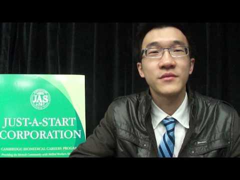 2013 Cambridge BioMedical Careers Program Graduation Interview with Nguyen Vuong