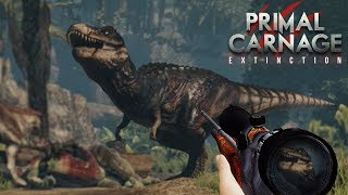 When you hunt the giant boi!!! - Primal Carnage Extinction || Part 34 HD