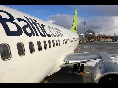 Air Baltic | Boeing 737-300 | RIX-LGW | Economy