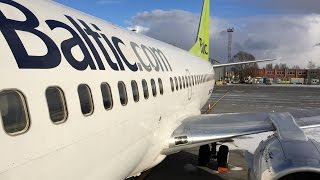 Air Baltic | Boeing 737-300 | RIX-LGW | Economy