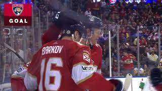Евгений Дадонов оформляет первый Хет-Трик в NHL...