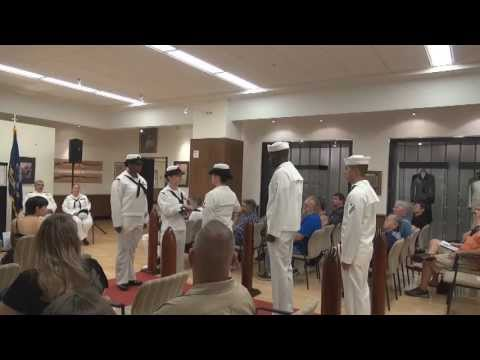 Navy Retirement Ceremony