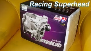 Unboxing 26hp Superhead UMA Racing for LC135 YZF R125 R15 Vixion Sniper Jupiter Mx Crypton X