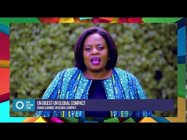 UN Digest with Sanda Ojiambo, Executive Director, UN Global Compact