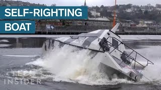 Stealth Boat Can Right Itself If It Capsizes