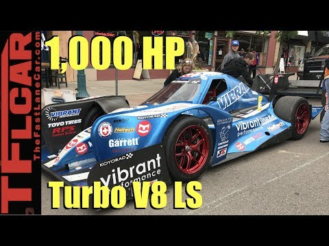 Pikes Peak Hill Climb Fan Fest Featuring Paul's 1,000HP Hypercar Racer