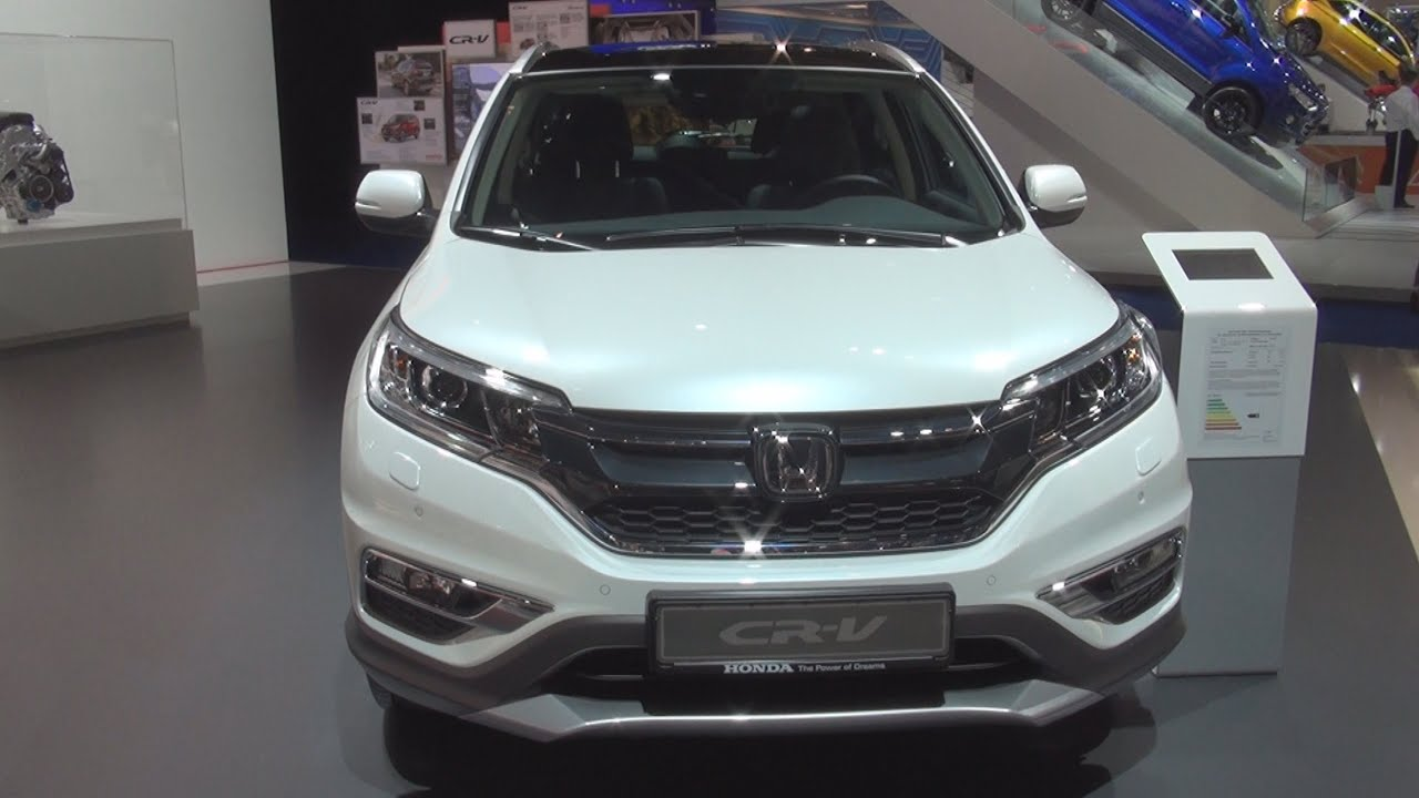 honda cr v 2 0 4wd executive 2016 exterior and interior in 3d youtube. Black Bedroom Furniture Sets. Home Design Ideas