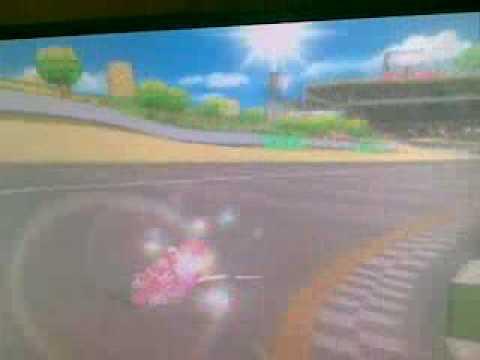 Mario Kart Wii 1 epic moment 4