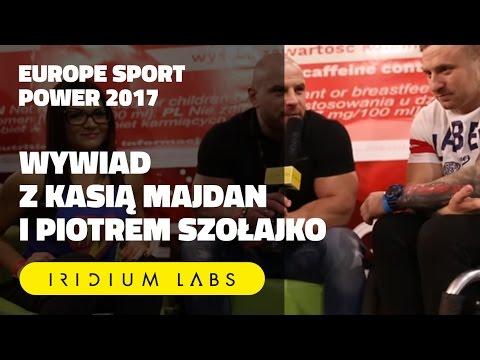 """⭐️⭐️⭐️ Europe Sport Power: """"Masa, masa, masa"""" - Wywiad z Kasią Majdan i Piotrem Szołajko"""