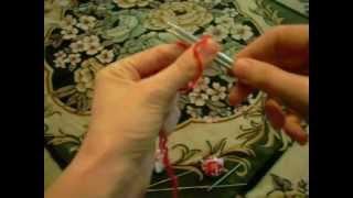 Набор петель для вязания на спицах (пинетки).